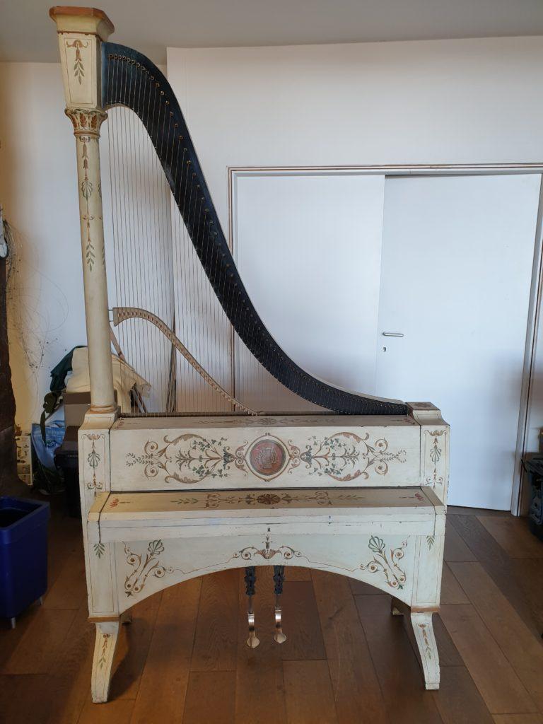 Clavi-harpe Dietz, fin du XIXe siecle